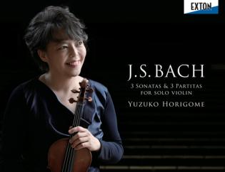 yuzuko horigome solo bach 3 sonatas